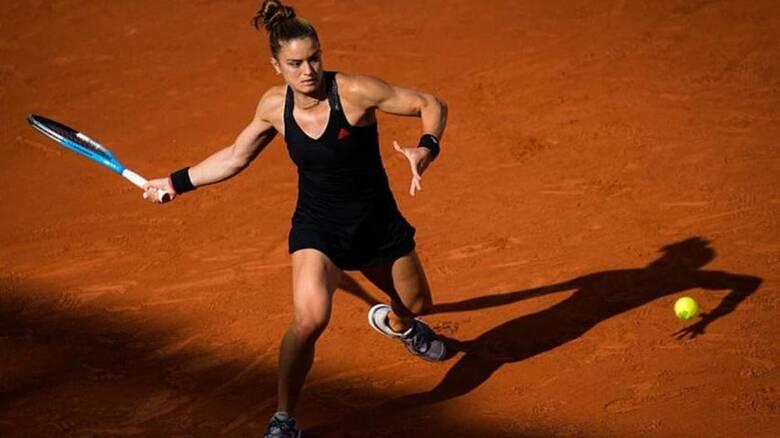 Πάλεψε δυνατά αλλά έμεινε εκτός τελικού Roland Garros η Μαρία Σάκκαρη