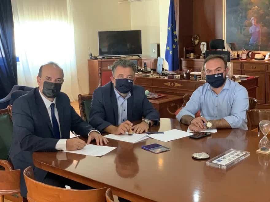 Ζωγράφου: Υπεγράφη σύμβαση για την αναβάθμιση του φωτισμού του Δήμου